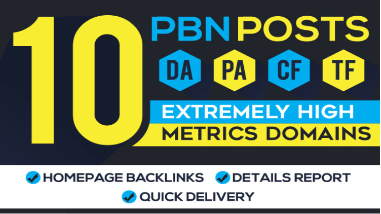 Providing 10 Powerful PBN Backlinks That Are Proven to Increase Rankings