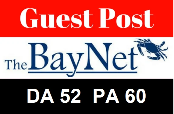 Write And Publish And Post On The Bay Net High Authority Da Pa Site 52 Backlink