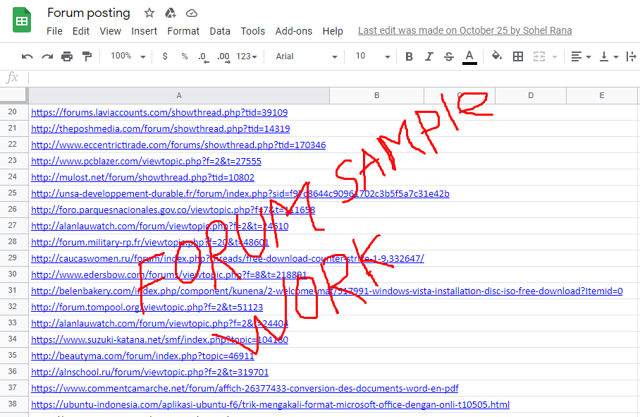 I will do 55+ forum posting, forum profile backlinks, dofollow backlinks, links building