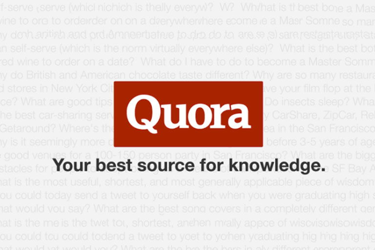 Posting high quality 20 Quora answer with your link