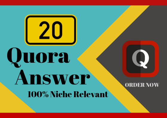 Get Some ORGANIC Traffic with 20 Quality Quora Answer