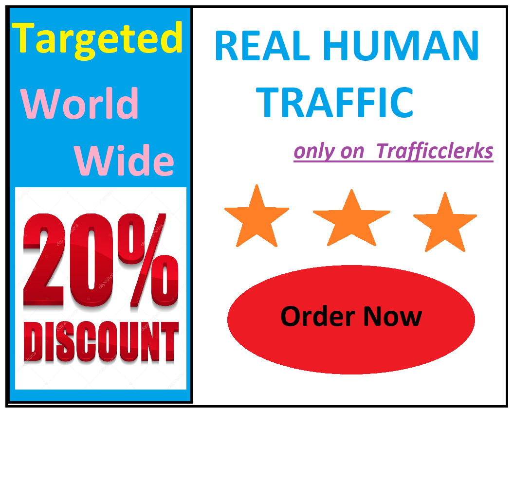 Drive Real Targeted Human Traffic World Wide