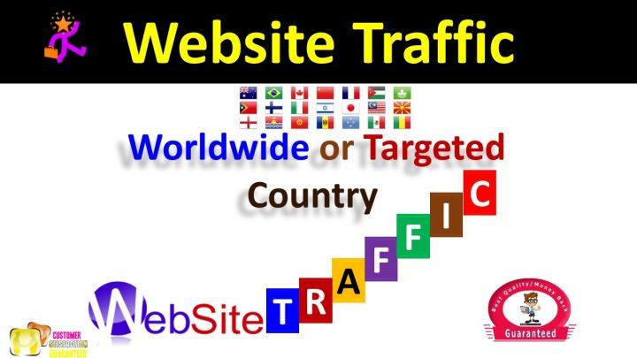 Drive 300,000 Website Worldwide Real USA Traffic Instagram, YouTube, Twitter, LinkedIn Google Traffic
