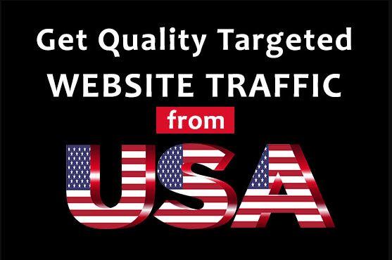 Drive 100,000 Website Worldwide Real USA Traffic Instagram, YouTube, Twitter, LinkedIn Google Traffic