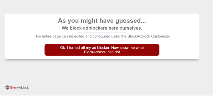 I will add anti adblocker script to your website