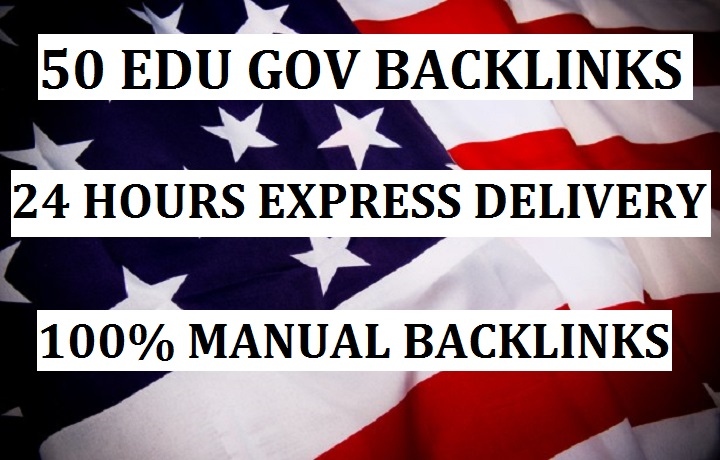 Create 50 EDU GOV Backlinks for your websites