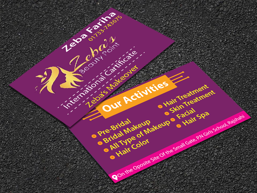 I will Create Business Card Design for your Company