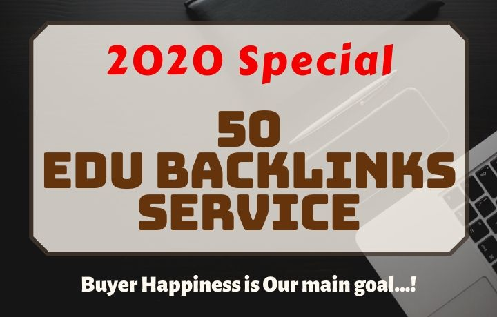 2020 Special Service,  50 EDU & GOV Backlinks
