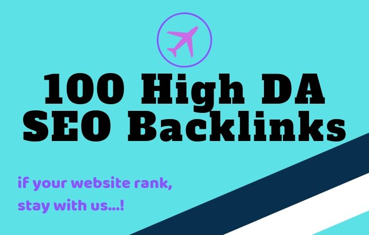100 High quality SEO Backlinks
