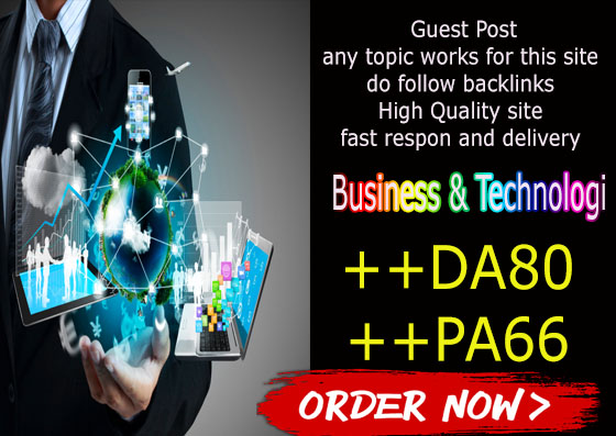 Guest post and write on HQ da80 Business technology