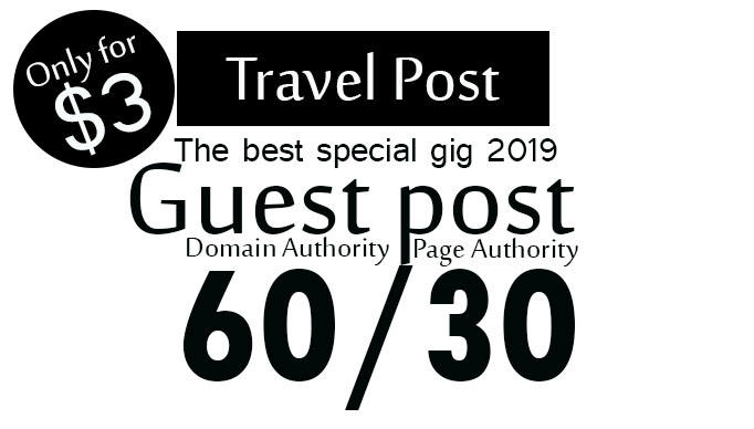 Publish guest post on da60 google travel website