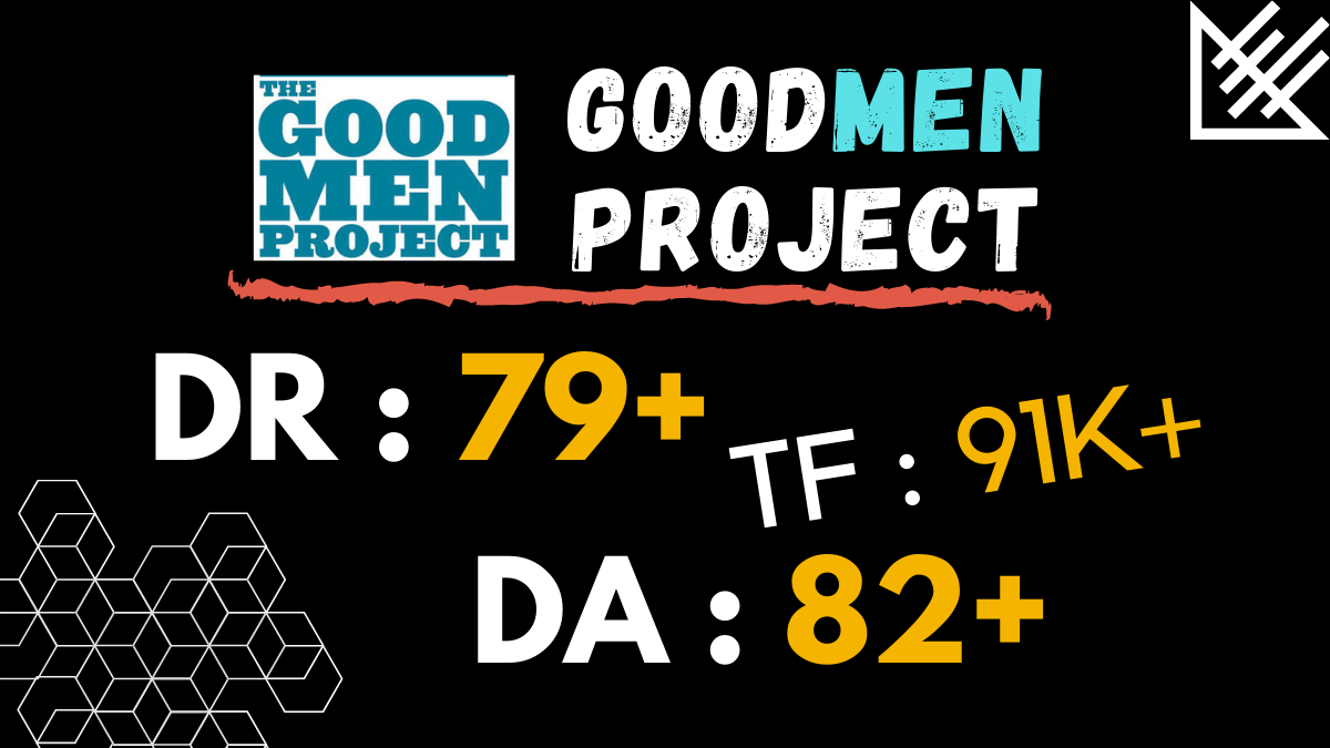 Publish article on Goodmenproject. com