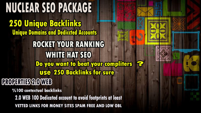 Will Boost Your Ranking to Page 1 on Google W Nuclear SEO Package