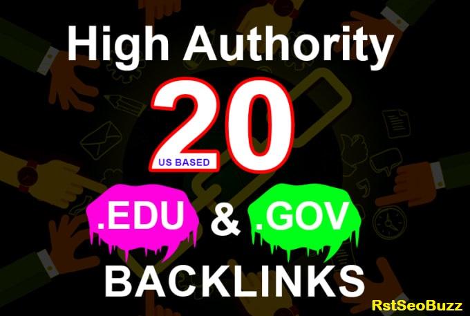 20 EDU/GOV High Authority Dofollow SEO Backlinks To Top DA 80 Premium Sites - Boost website Rankings