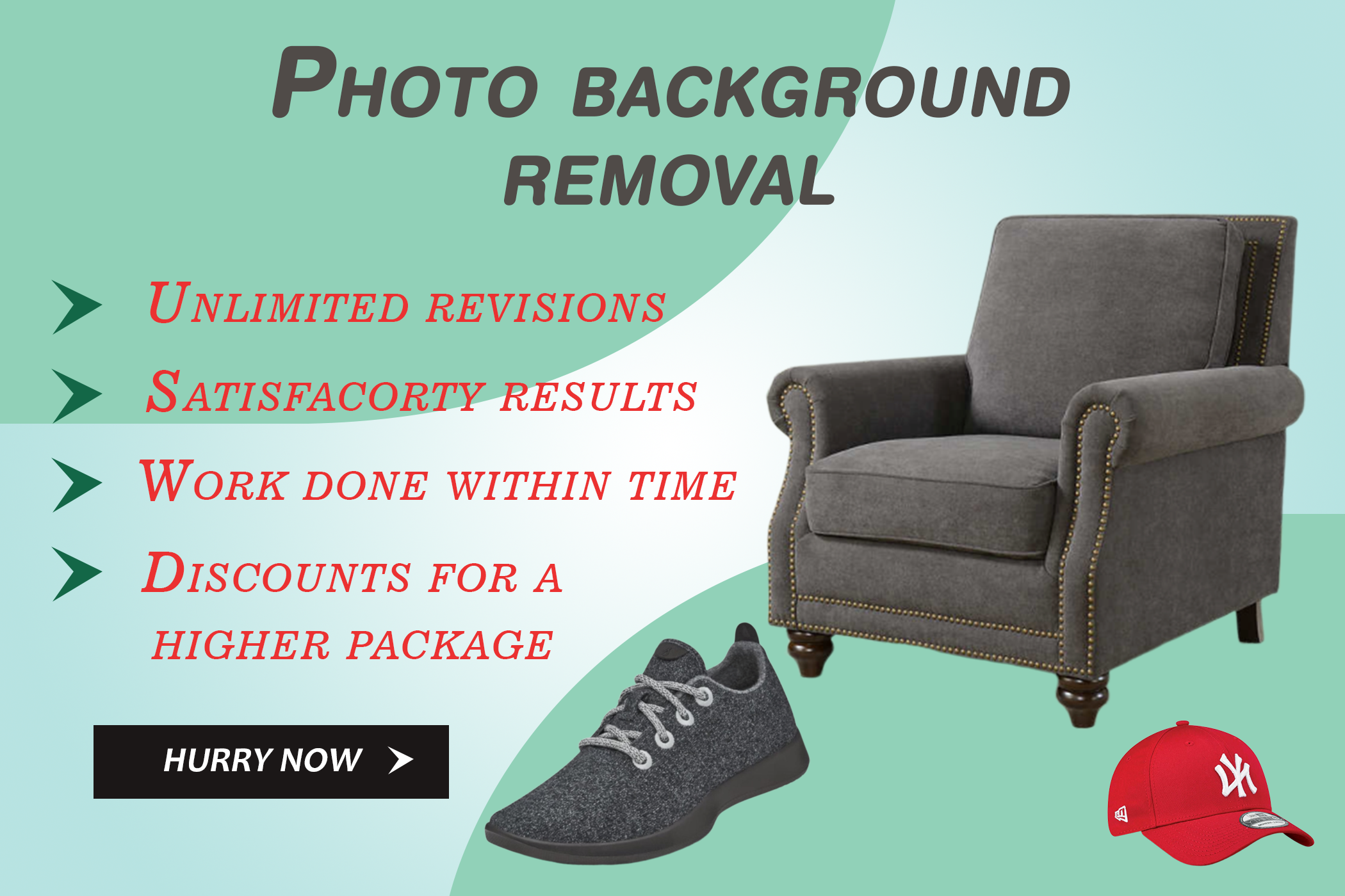Superfast images background removal