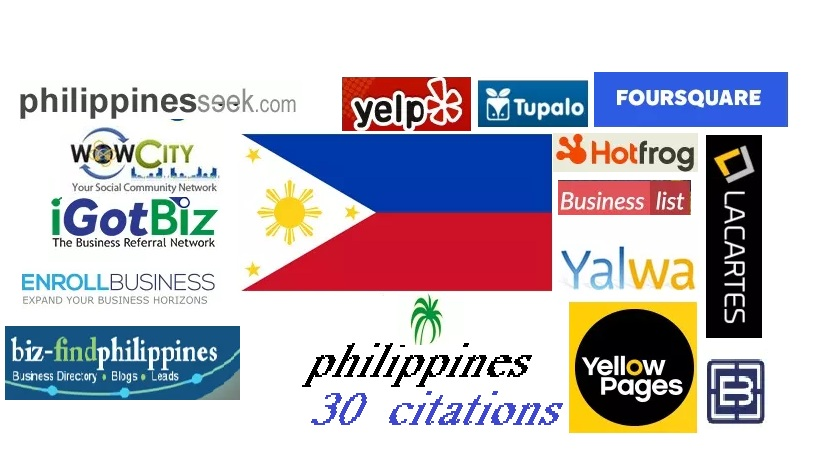 Get Accurate 30 Best Philippines Local Citations