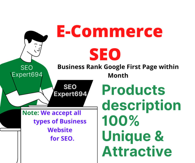 Write original and impressive SEO product Description