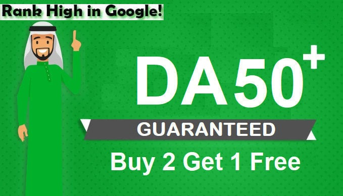 I will increase domain authority 30+ with White hat backlinks