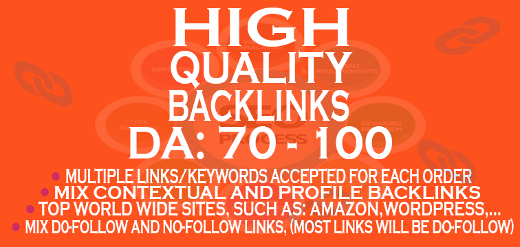 10 Most effective HQ BACKLINKS all from DA 70+ site booster
