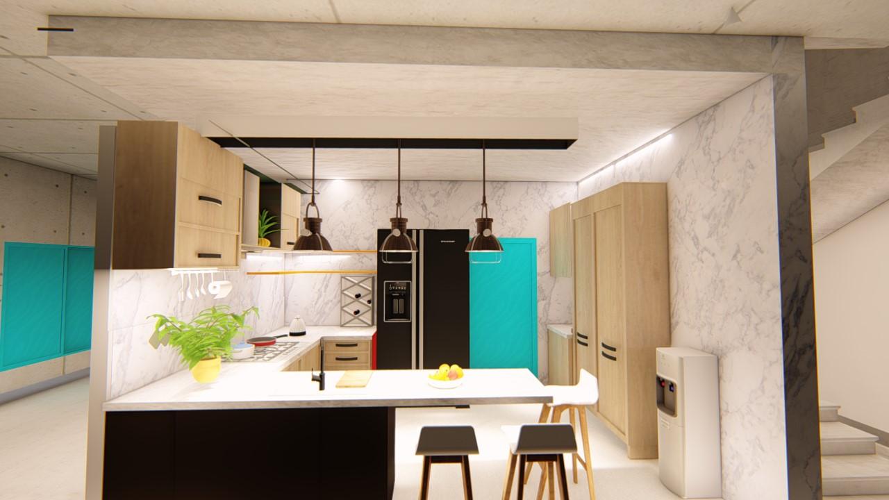 Professional Interior Design and Render