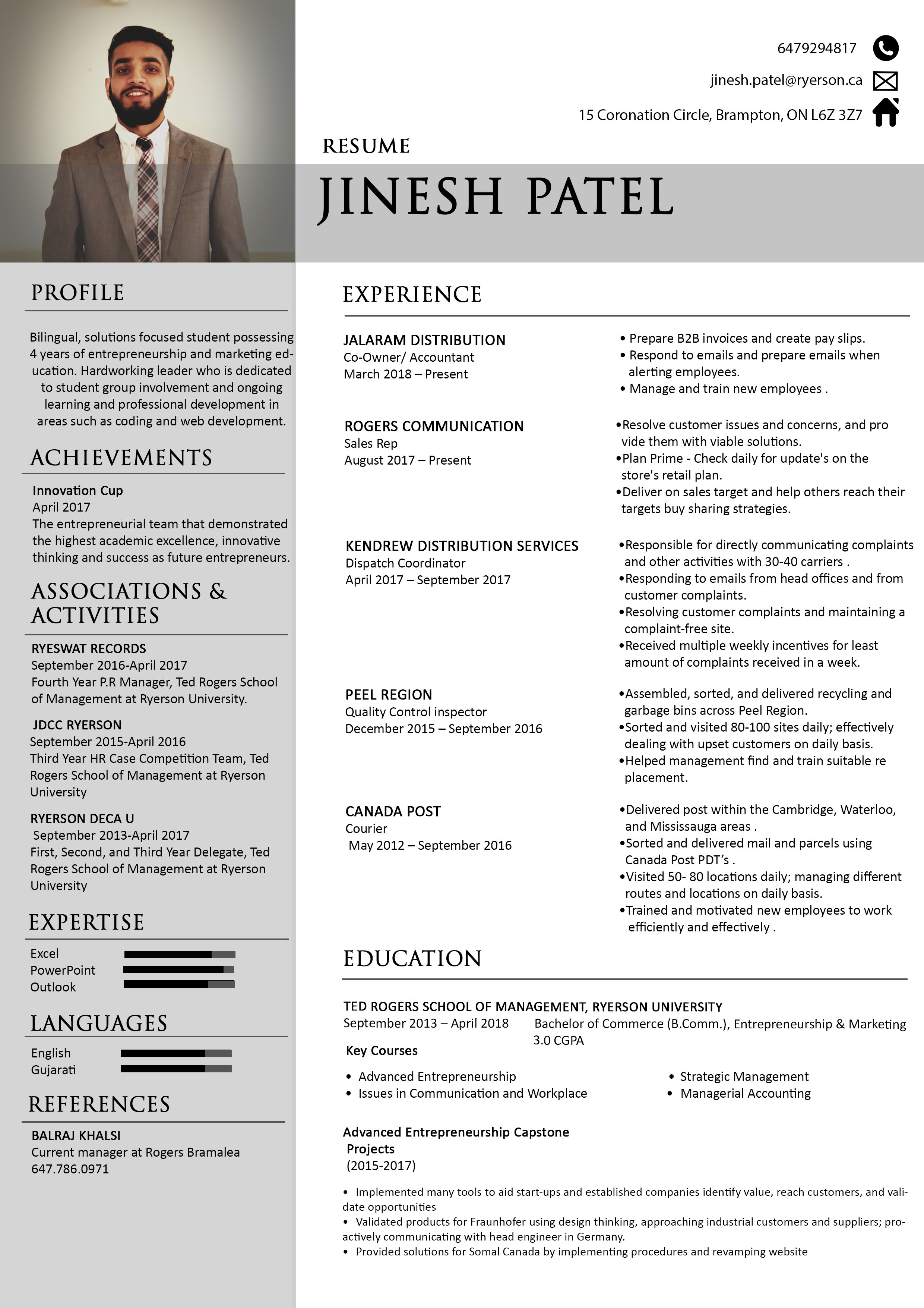 Professional Resume Writer by Photoshop, Illustrator and Microsoft Word