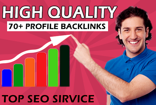Do Build 20+ High Da SEO Profile Backlink