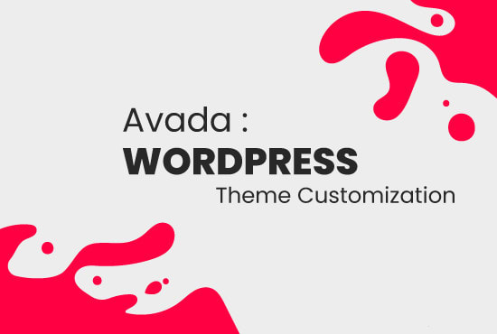 theme customization and build a seo optimized website
