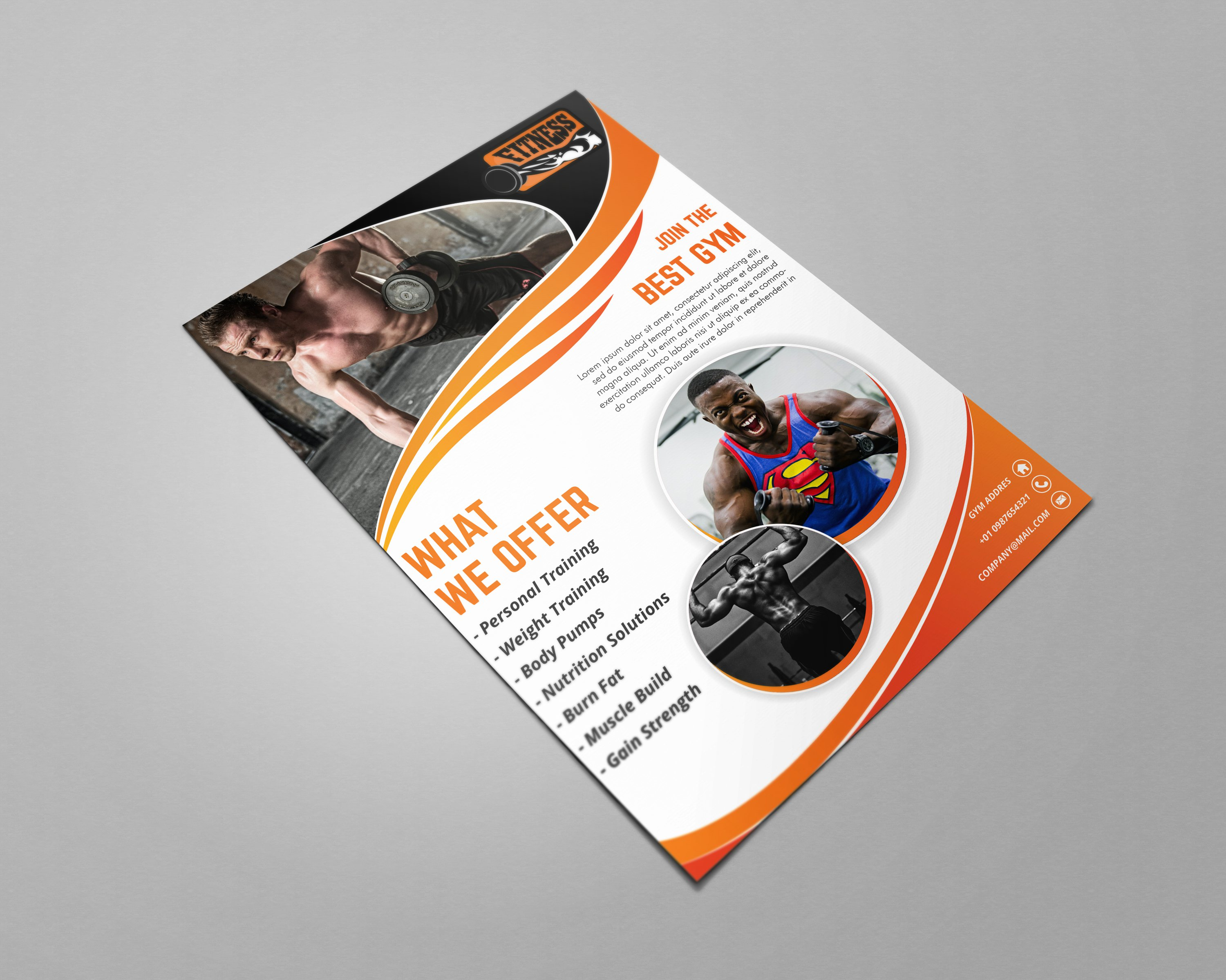 I will design amazing flyer, brochure or leaflet