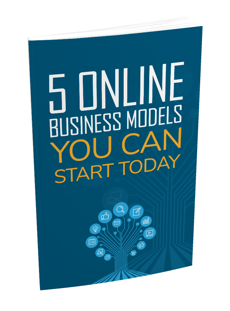 5 Online Business Models You Can Start Today eBook with MRR for 1