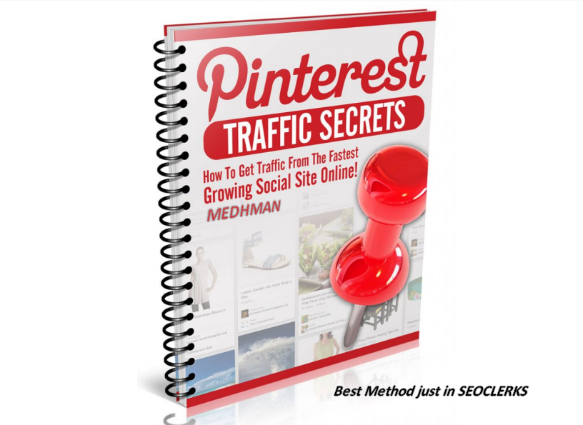 Get Method to get traffic from PINTEREST to your affiliate website - 3 PDF Ebook