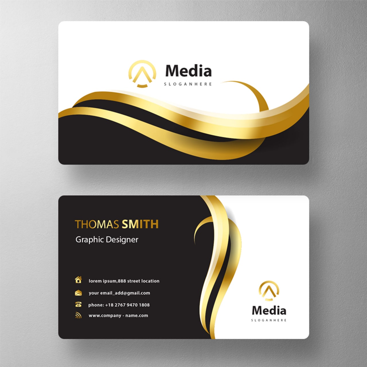 I will design a unique and professional business card for you