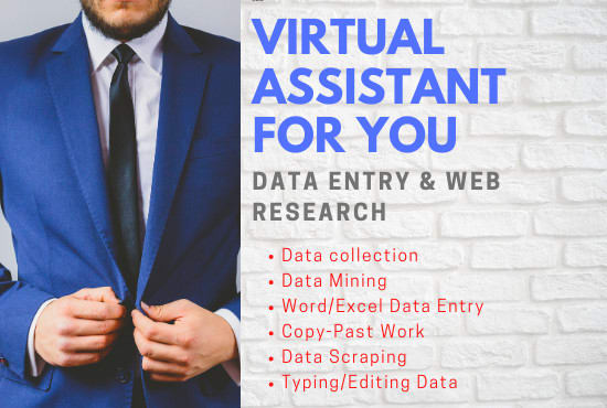 I will do Data entry in Ms word,  excel,  web reseach,  convert PDF TO Ms word/ Excel
