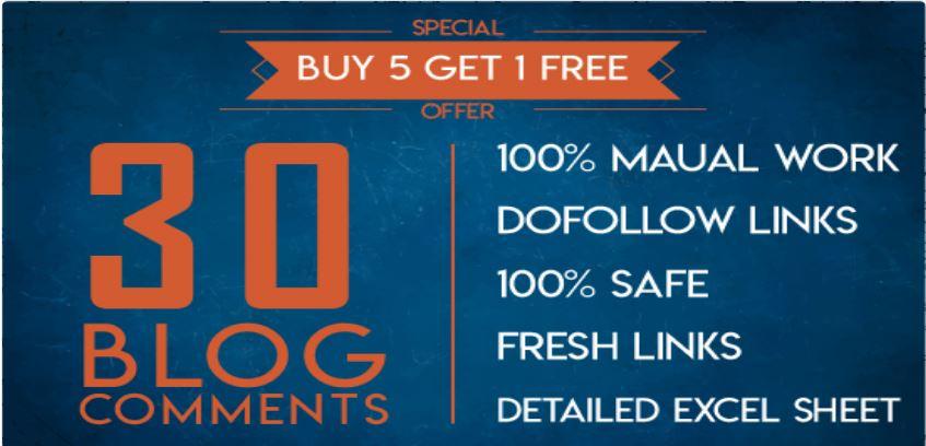 Do 30 Trust Flow Blog Comments Backlinks