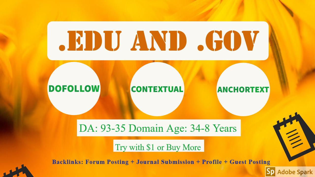 Buy EDU Backlinks - USA Universities & College - Dofollow - Contextual Backlinks