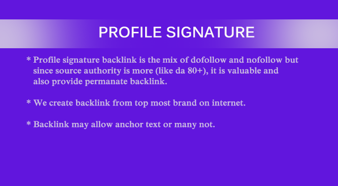 High Authority Backlinks From Trusted Source