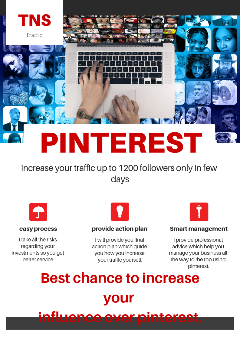 Increase your pinterest follower by 1000+