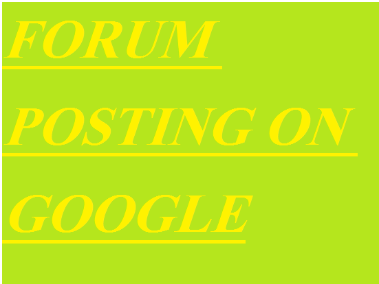 2200 + forum posting Backlinks Rank on Google Alexa