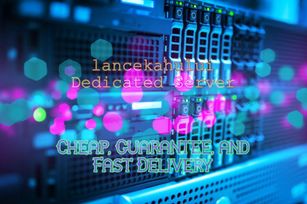 Linux Dedicated Servers by lancekahului