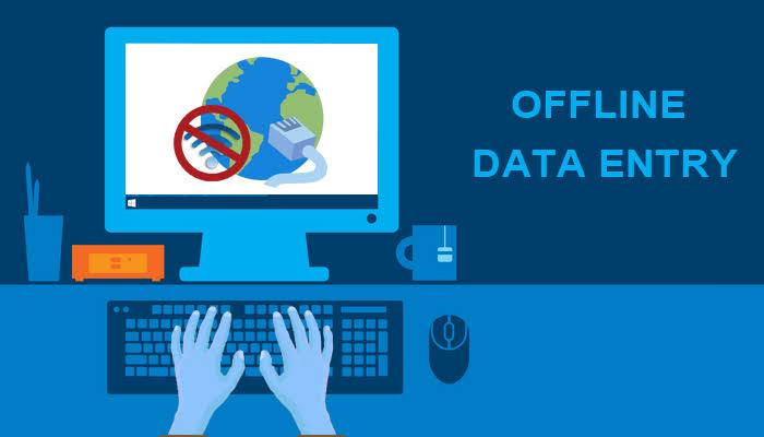 100% ERROR FREE DATA ENTRY DONE