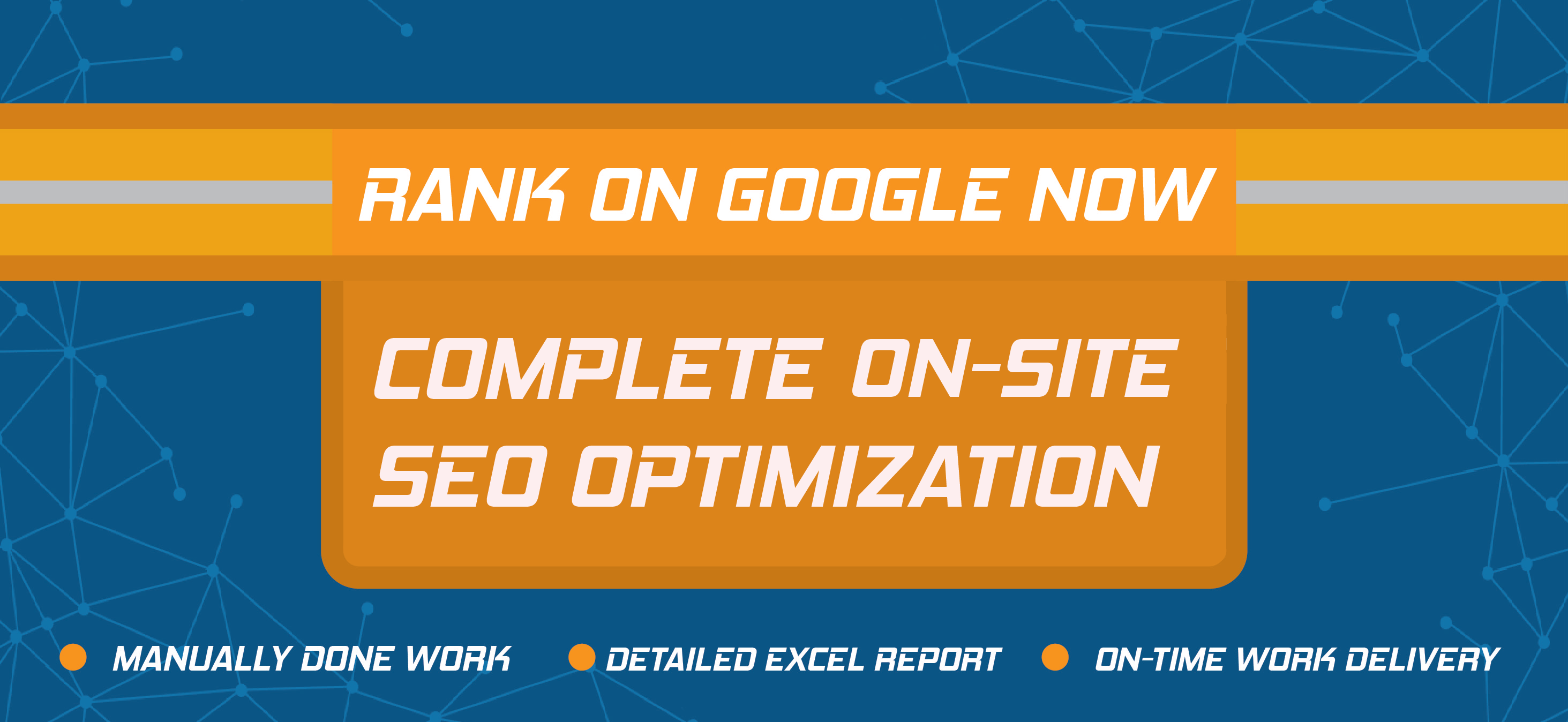 COMPLETE ON=SITE SEO OPTIMIZATION FOR YOUR WORDPRESS WEBSITE