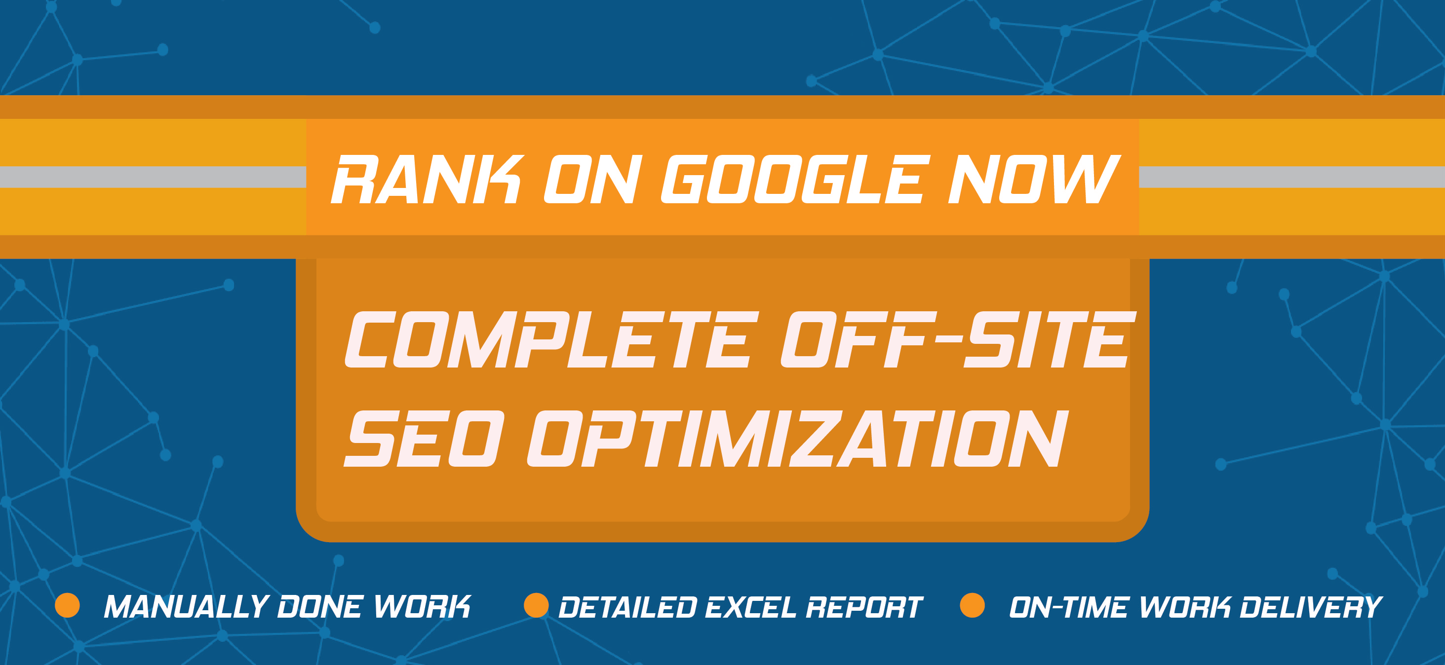 COMPLETE OFF-SITE SEO OPTIMIZATION