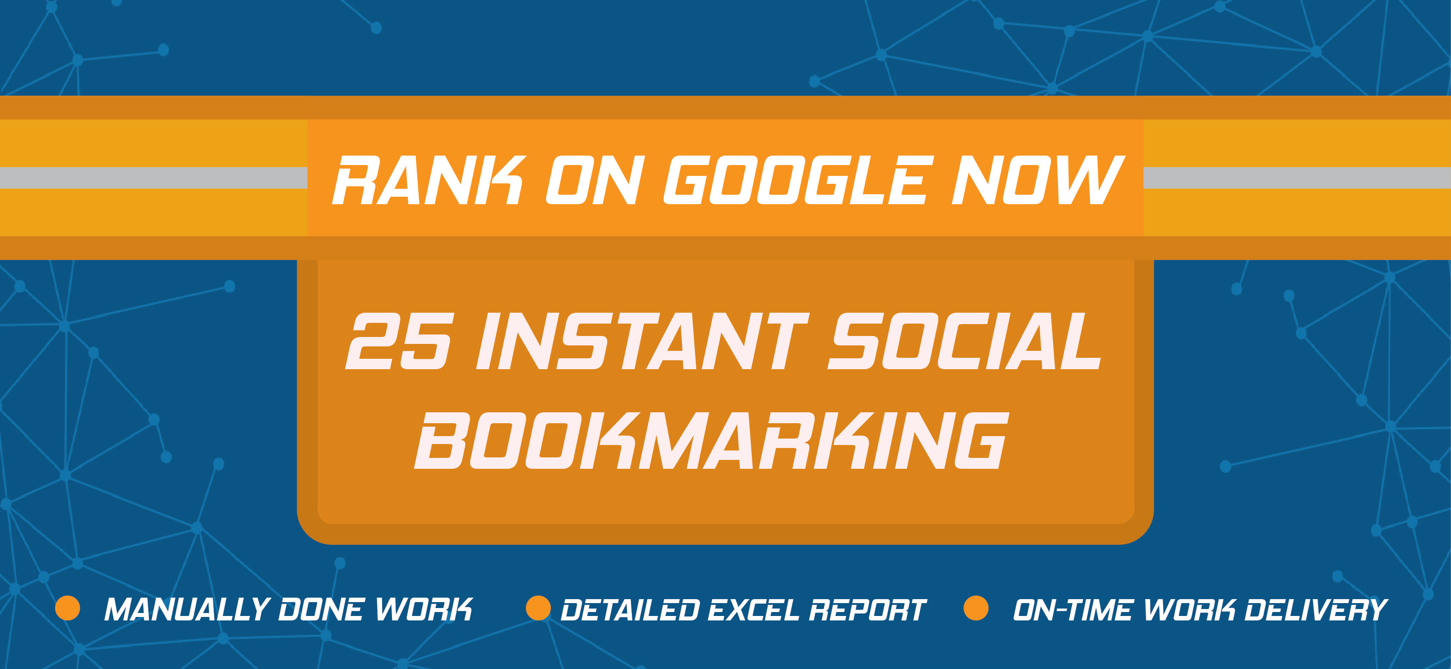 Create 25 Social Bookmarking for your website