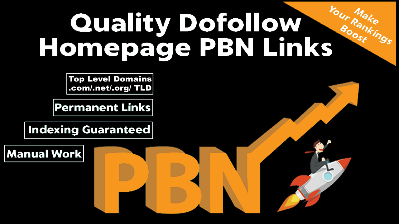 Permanent 10 homepage Upto 35 TF CF Dofollow Quality PBN Backlinks to Improve your ranking