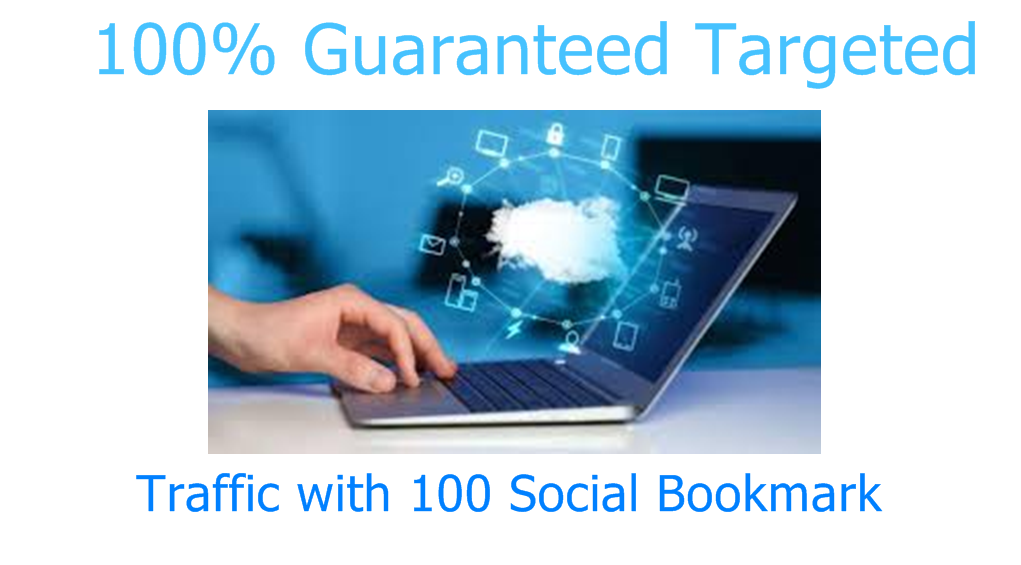 100 Guaranteed Organic Traffic with 100 Social Bokmarking