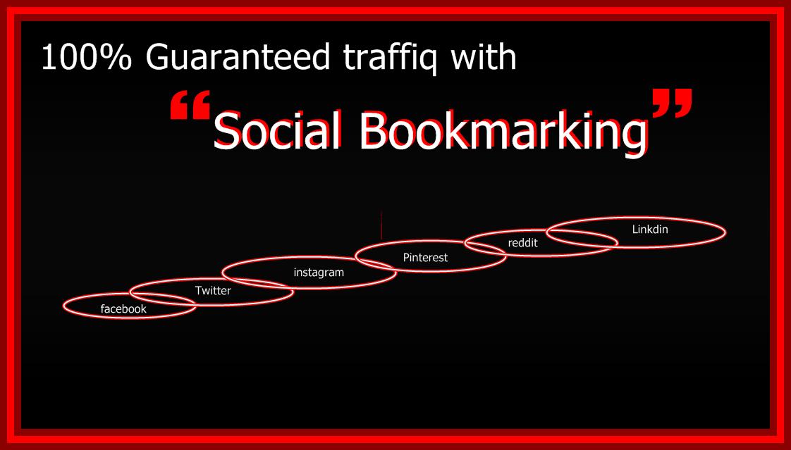 Guaranteed traffic with social bookmarking