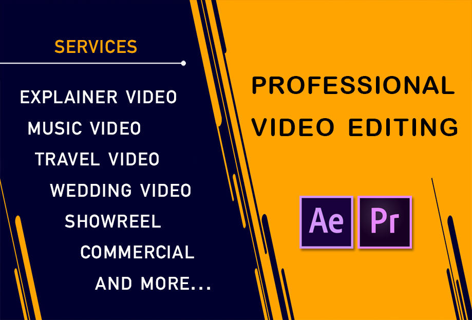 Video Editing Services w/ Fast Delivery