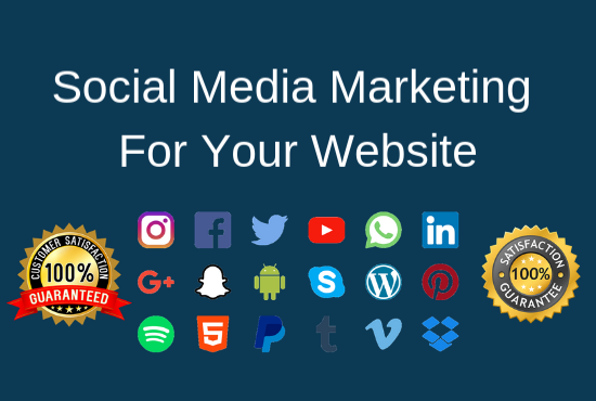 Social media marketing manager and create unique content