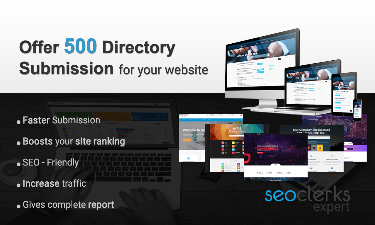 Offering 500 directory submission for your website at cheapest rate