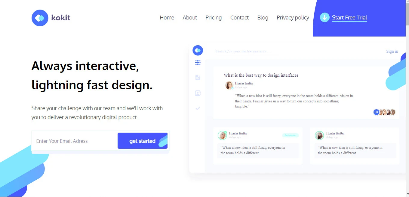 I Will give you a very attractive design for you website With full of Css, Js Animations