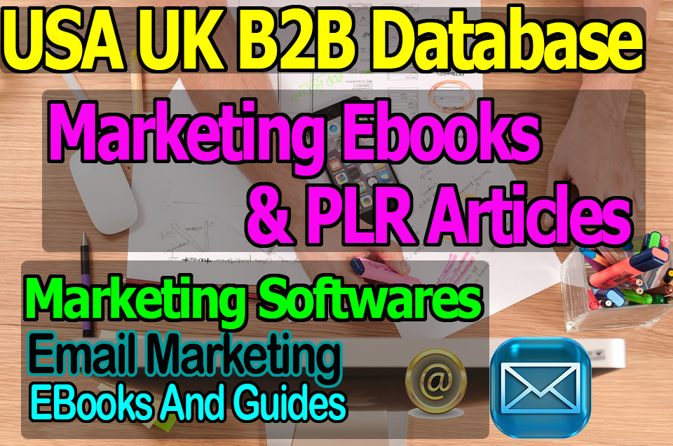 Get Marketing EBooks Software Guides Articles and Business to Business Database